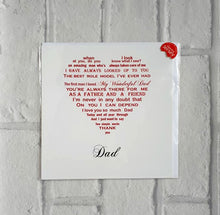Dad card - Unique card for an amazing Dad