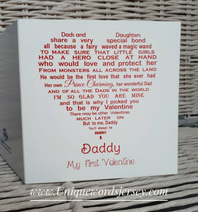 Valentines Card for Daddy