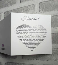 Husband Anniversary Card, Valentine Card for him, Birthday Card for Husband