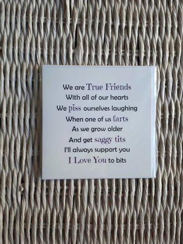 Friend Card - Saggy Tits