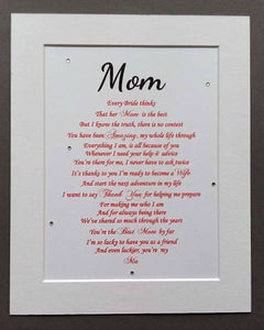 Parents of the Bride Gift