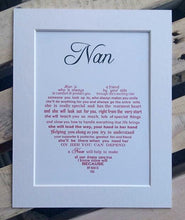 Personalized Grandma Gift