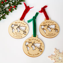 Set of 3 Christmas baubles