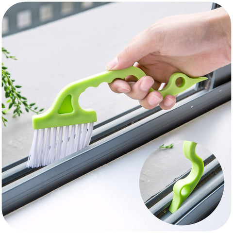Hand-held Groove Cleaning Brush