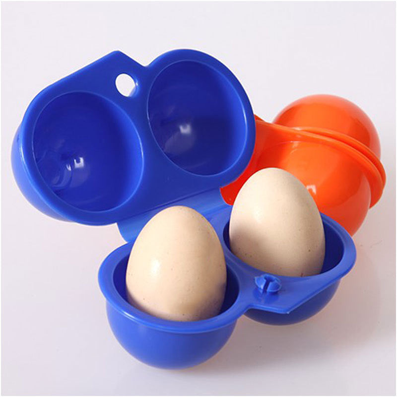 2 Hard Boiled Egg Storage Container