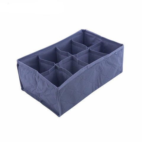 Foldable Cloth Storage Box - 8 Slots