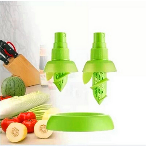 2 Piece Set Fresh Lemon Juice Sprayer