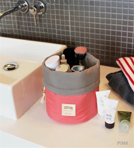 Cosmetics Barrel Makeup Organizer