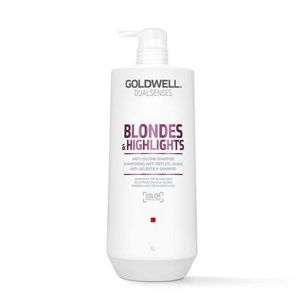 Dual senses Blondes & Highlights Anti-Yellow Shampoo 1000ml