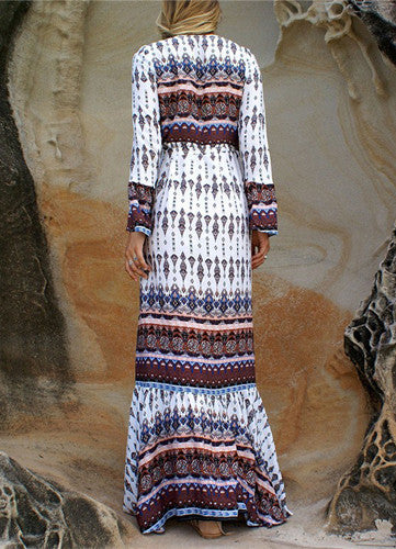 Penelope | Split Bohemian Maxi Dress