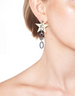 DETACHABLE GOLD 520 WITH STAR EARRINGS