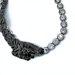 TIGER EMBELLISHED ZIRCON CHAIN NECKLACE