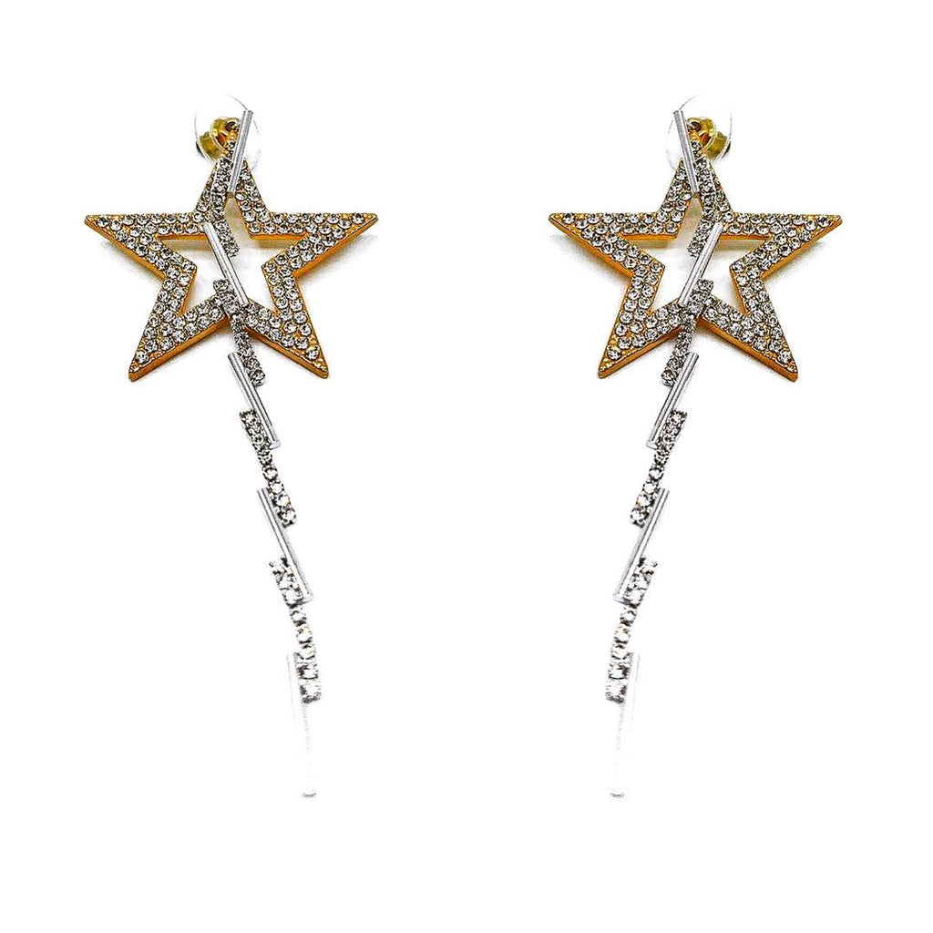 STAR-SHAPED DETACHABLE EARRINGS