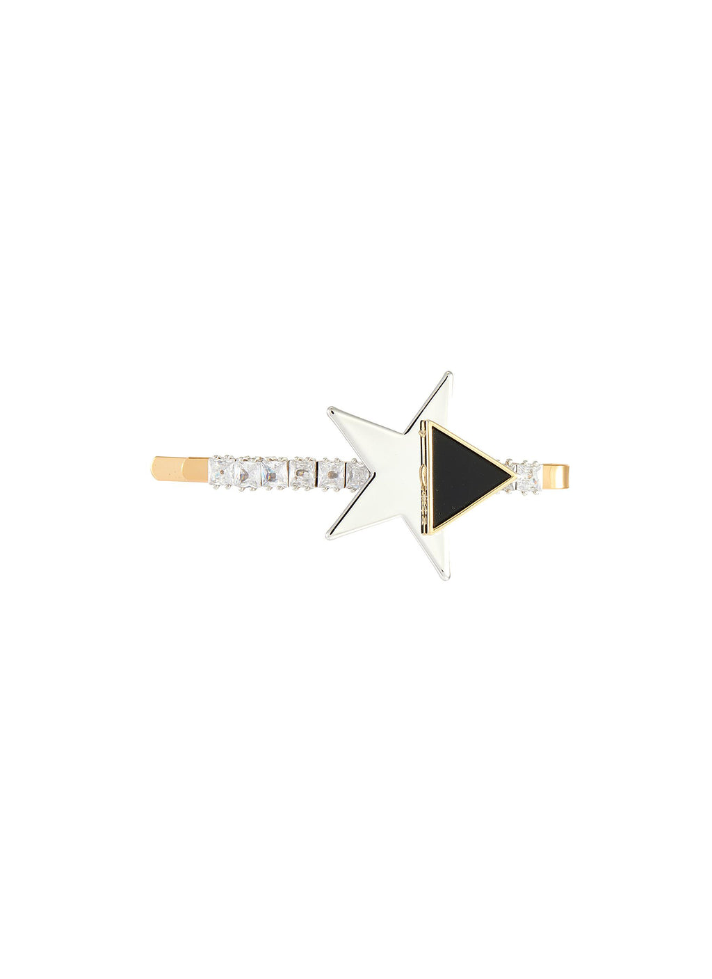 ZIRCON EMBELLISHED STAR DECO HAIR CLIP