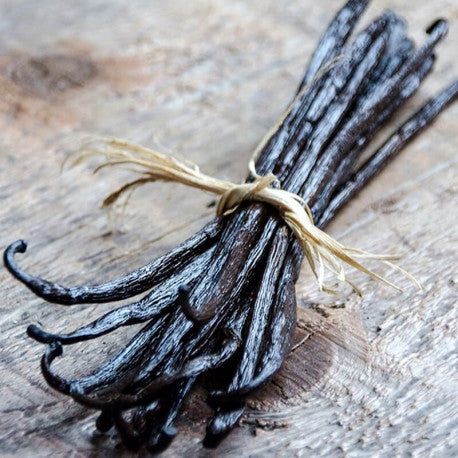 Picture of a vanilla bunch