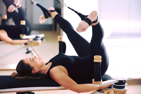 Picture of a woman stretching