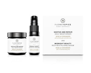 TRY IT OUT - TRAVEL/DISCOVERY SET - Rose & Coriander mini duo + 2 GIFTS