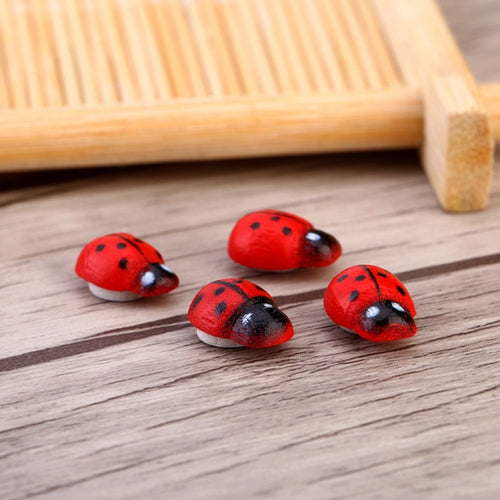 Wooden Ladybird Decoration