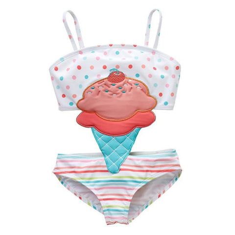 Happy Ice Cream Baby Swimsuit 070619