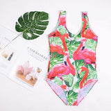 Creative Cartoon Onepieces Swimsuit 100319