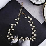 Luxury Simulated Pearl Necklace 110819