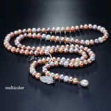 Silver 925 Luxury Pearl Necklace