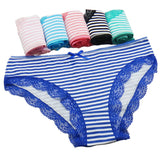 Simple Colorful Panties 5pcs Set 090319