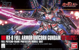 Bandai HGUC 199 Full Armor Unicorn Gundam model kit