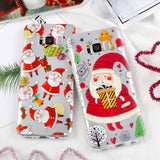 Christmas Case for iPhone X + Samsung