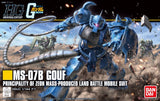 Gouf Gundam Tiger model kit