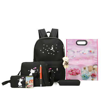 Cat Bag Pack Set