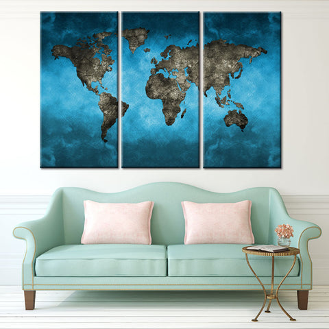 Luxury Global World Maps