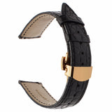 Genuine Alligator Leather Watchband