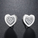 925 Sterling Love Love Earrings 280919