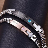 Lover Pairs Bracelets With Gift Box 211218
