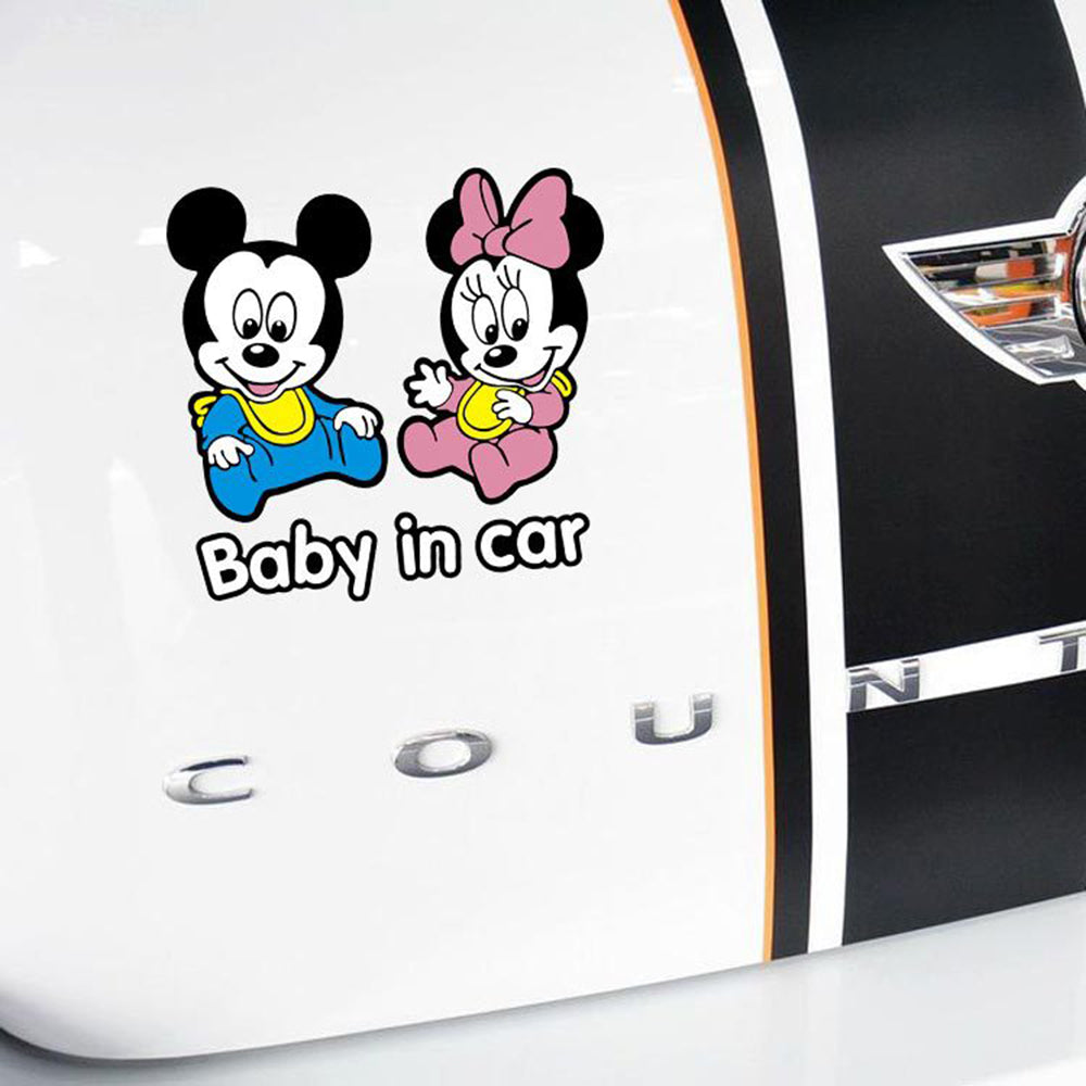 Happy Baby Car Sticker 191218