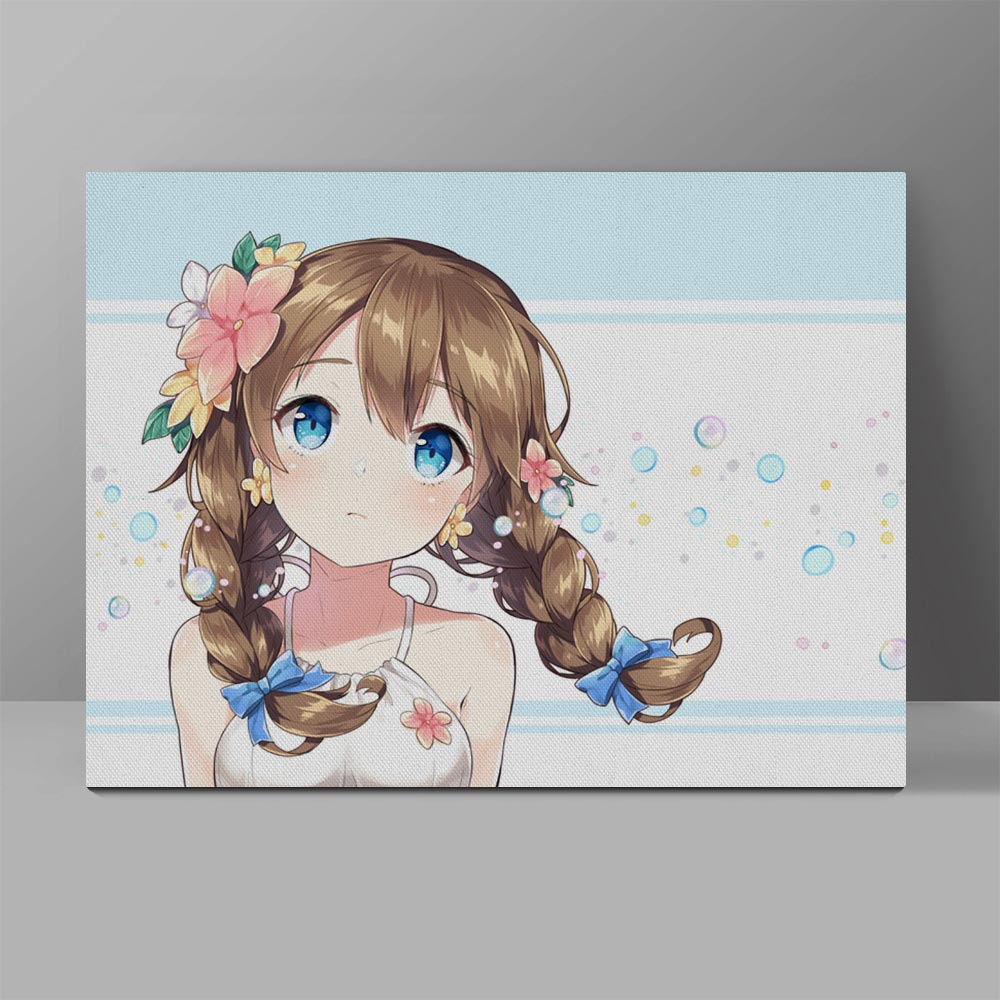 Anime Girls Wall Painting