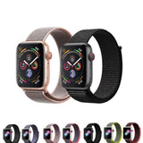 Sport Band for Apple Watch 38mm 42mm, Soft Lightweight Breathable Nylon Sport Loop Replacement Strap for iWatch Apple Watch Series 3, Series 2, Series 1,