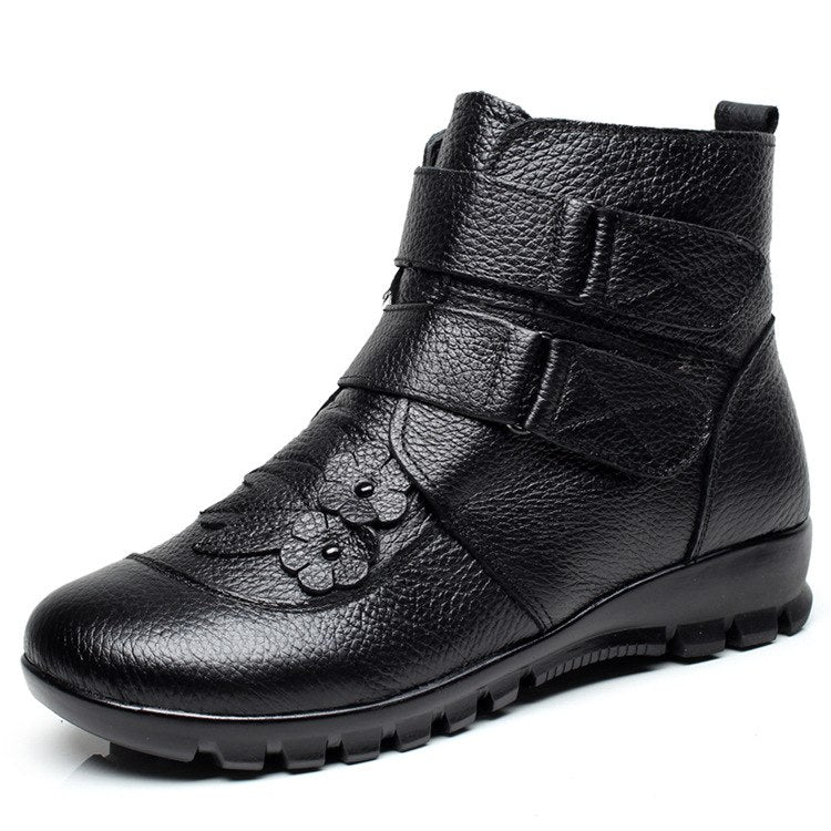 Flora Genuine Leather Warm Boots 031018