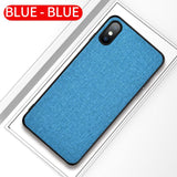 iPhone Stylish Fabric Case 220619