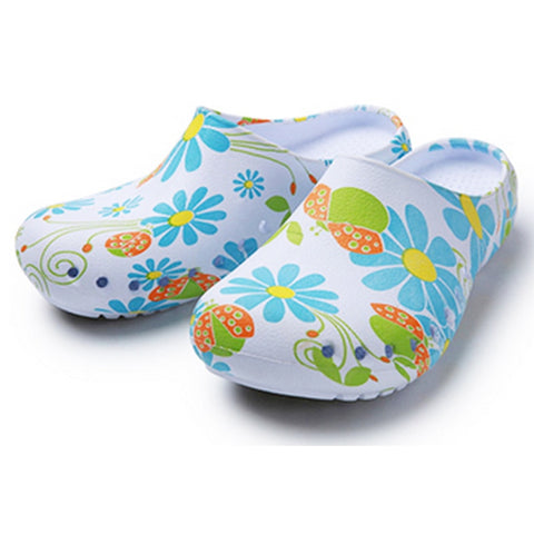 Floral Beautiful Medical Shoes 050519