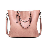 Luxury Wax Leather Bag