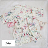 Luxury Floral Sleepwear Set 281118