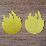 Fire Nipple Covers 50 pairs (100Pcs) Bundle Set 311218