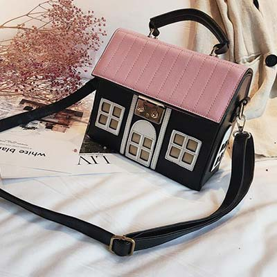 Creative Lovely House Handbag 090919
