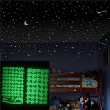 Twinkle Twinkle Little Star + Moon Luminous Home Decor 240219