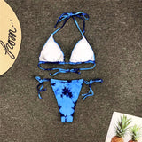 Lovely Tie Dye Bikini Set 220919