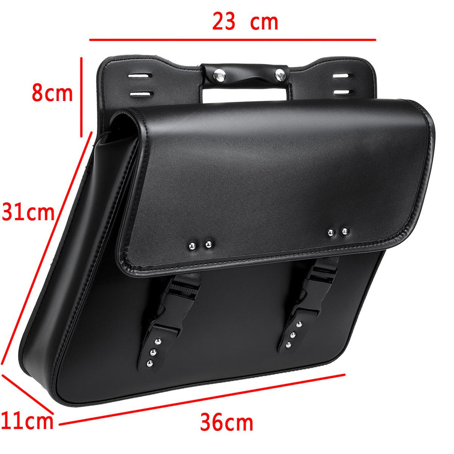 Universal Pu Leather Saddle Bag