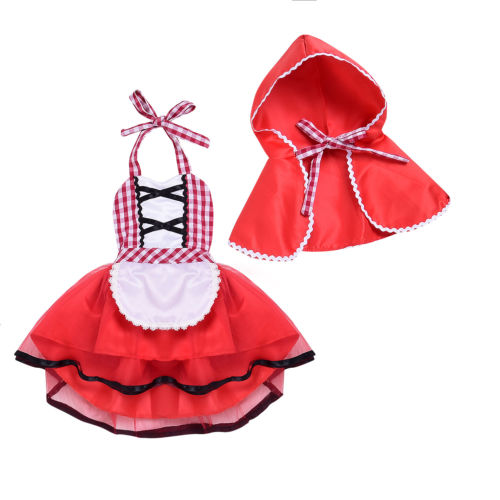 New Born Baby Girl Cosplay Clothes Set