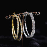 Good Looking Rhinestone Fashion Earrings